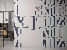 Customised wallpaper with acoustic properties GLAMACOUSTIC by GLAMORA design Glamora