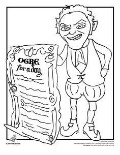 Shrek Forevers Rumplestiltskin Coloring Page