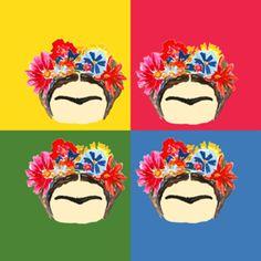Almofada Frida Pop do Studio Mariela por R$45,00