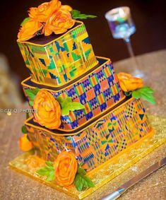 (notitle) - Welcome to Wakanda - Mariage African Cake, African Theme, African Style, Ghana Traditional Wedding, Traditional Cakes, Traditional Decor, African Wedding Cakes, African Wedding Theme, Ethnic Wedding