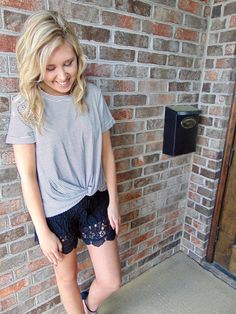 Long Crochet Shorts for Kati