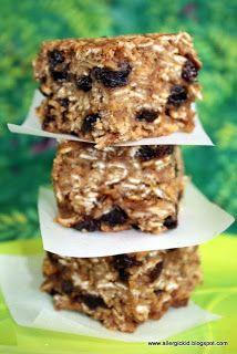 The Allergic Kid: Nut Free Granola Bars