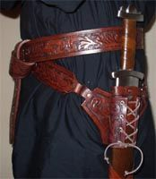 Fancy Sword Sheath Belt