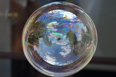Bubble - previously posted by a reader on my Facebook page.