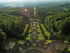 Hillside Park Wilhelmshoehe in Kassel, Germany