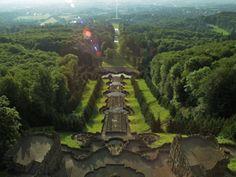 Hillside Park Wilhelmshoehe in Kassel, Germany