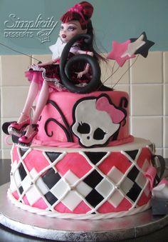 Monster High Birthday Cake Ideas on Pinterest | Monster High Cakes ...