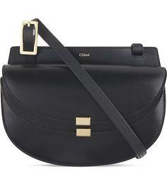 CHLOE - Georgia leather satchel bag | Selfridges.com