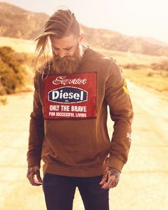 Going way out West in Diesel http://www.diesel.com/american-west-male