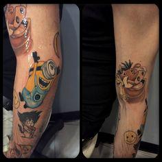 tatuaggi cartoni animati