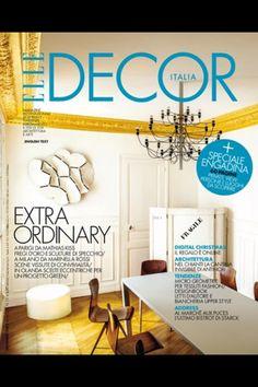 @Elle Decor Elle Decor, Dining, Modern, Magazines, Home, Glamour, Interiors, Elegant, Chic
