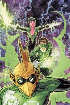 Green Lantern Corps by Francis Manapul