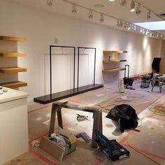 Progress in Yea old Shoppe. Loft, Desk, Furniture, Home Decor, Writing Table, Homemade Home Decor, Lofts, Desktop, Home Furnishings