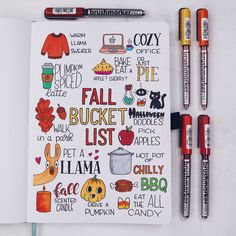 How to Create A Fall Bucket List In Your Bullet Journal - - Join me today and let's create a bucket list to inspire you this season to go, explore and indulge in the wonderful activities you love! Bullet Journal Tracker, How To Bullet Journal, Bullet Journal Writing, Bullet Journal Aesthetic, Bullet Journal Ideas Pages, Bullet Journal Spread, Bullet Journal Inspo, Bullet Journal Layout, Bullet Journal Bookshelf