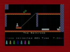 ZX Spectrum, Jet Set Willy. The follow up to Manic Miner.