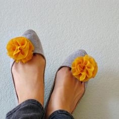 $28, So adorable! I remember wearing shoe clips in like middle school. They're back with pizazz.