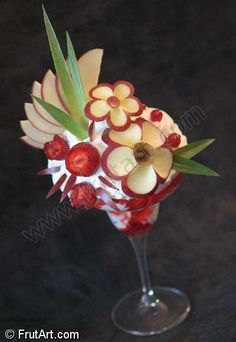 wow! fruit art