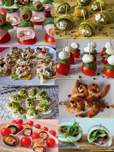 35 przekąsek na Sylwestra Appetizer Salads, Appetizer Recipes, Food Crush, Weird Food, Christmas Cooking, Christmas Desserts, Appetisers, Food Design, My Favorite Food