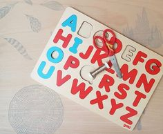 Letter Games, Wood Letters, Fishing Games, Toys