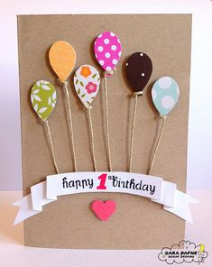 53 Ideas Gifts Wrapping Ideas For Kids Birthday For 2019 Handmade Birthday Cards, Happy Birthday Cards, Greeting Cards Handmade, Craft Gifts, Diy Gifts, Handmade Gifts, Birthday Wrapping Ideas, Gift Wrapping Ideas For Birthdays, Diy Cards