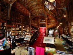 In the era of tablets...the Lello bookshop in Porto holding around 120,000 titles!