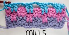 Weer een heel mooi steekje, aan de slag! KLIK HIER voor de (engelstalige) uitleg. ***************** Another cute crochetstitch...