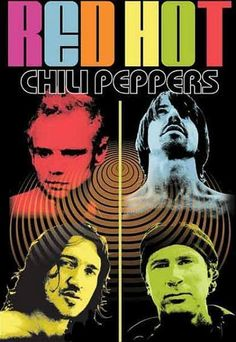 Red Hot Chilli Peppers : Colour Me - Maxi Poster 61cm x 91.5cm (new & sealed)