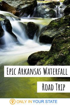 Enjoy nature and take an amazing waterfall road trip through Arkansas. Travel to Petit Jean State Park and more of our best day trip destinations along the way. This trip is perfect for hikers and photographers! Arkansas Waterfalls, Petit Jean State Park, Beautiful Waterfalls, Haunted Places, Day Trip, Small Towns, Road Trips, State Parks, Photographers