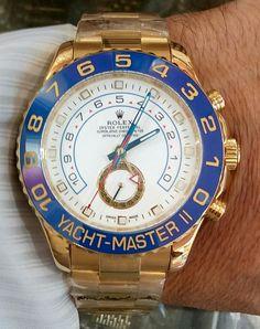 Yacht master Stylish Watches, Luxury Watches, Cool Watches, Rolex Watches, Rolex Daytona Gold, Gold Watch, Gentleman, Accessories, Shopping