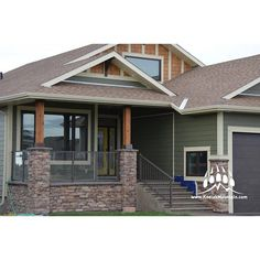 Frontier Ledge (Color: Chardonnay)  www.KodiakMountain.com  #KodiakMountainStone #CustomHomes #StoneWork #LuxuryHomes #Luxury #YYC #YQL ... Kodiak Mountain Stone®  Office: (877) 563-4252 Office Fax: (877) 231-0548  http://www.facebook.com/KodiakMtnStone
