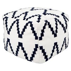 Bought one for each of the boys. Will go great with their Route 66 and Colorado theme rooms. Threshold™ Kilim Square Pouf