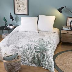 Parure de lit en coton imprimé carte de l'Inde 220x240 | Maisons du Monde