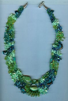 Jewelry and beaded sculptures  - freeform