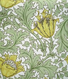 William Morris. Various Wallpaper selections. Circa 1870s-1880s.