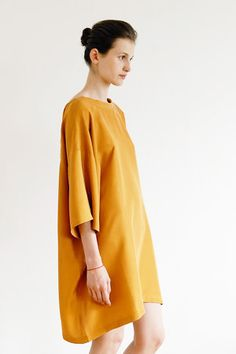 simple dress by reality studio, russia.