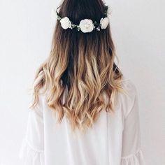 jolis cheveux fille
