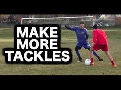 How to defend in soccer football ► How to play defence ► How to be a good a defender in soccer or football. Today's video is all about how to defend in footb. Soccer Workouts, Soccer Tips, Soccer Games, Football Drills, Football Soccer, Nike Soccer, Soccer Cleats, Soccer Coaching, Soccer Training