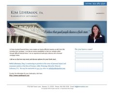 Kim Lehrman, P.A. - Florida Bankruptcy Attorney