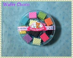 Wafer choco with various flavour also sweet for birthday gift