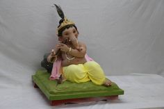 Bappa moraya god of ganesha Indian god Clay Ganesha, Ganesha Art, Ganesh Lord, Shri Ganesh, Ganesha Pictures, Ganesh Images, Picture Collection, My Collection, Laughing Colors