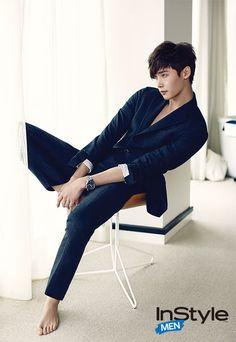 Lee Jong Suk ♡ #KDrama // InStyle Magazine September Issue '14