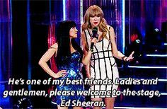 They constantly praise each other in the press. | 23 Times Taylor Swift And Ed Sheeran's Friendship Ruled Everything