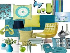 My living room is going to be mostly teal with some purple, gray, and coral accents, and then I'm thinking of using this color scheme in the dining room.