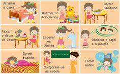 Educação Infantil: Mural das tarefas