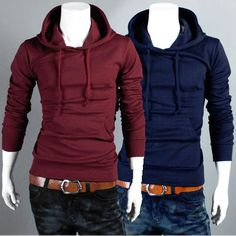 Solid Color Drawstring Hoodie . Shop Now At  http://sneakoutfitters.com/collections/new-in/products/ao-yff-hb-wy03-so38