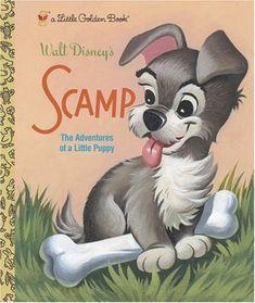 Little Golden Book: Scamp