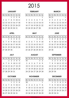 free 2015 calendar printable calendar template free printables printable planner yearly calendar