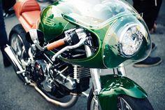 Beautiful Ducati seen at Wheels & Waves 2014 | via Iron & Air Journal