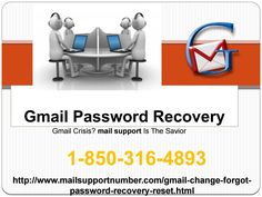 To resolve Gmail Password Recovery issues, you are suggested to place a call on our toll-free number 1-850-316-4893 and get in touch with us. We make sure that all your Gmail account password issues will be resolved in an effective manner by our highly dexterous tech support executives.So, stop wasting your valuable time and take help from us. For more visit us our site. http://www.mailsupportnumber.com/gmail-change-forgot-password-recovery-reset.htmlSee Less