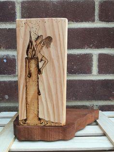 'Afraid to fly' Fairy Tealight Holder £15.00